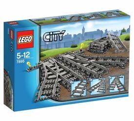 Lego 7895 switch tracks BNIB