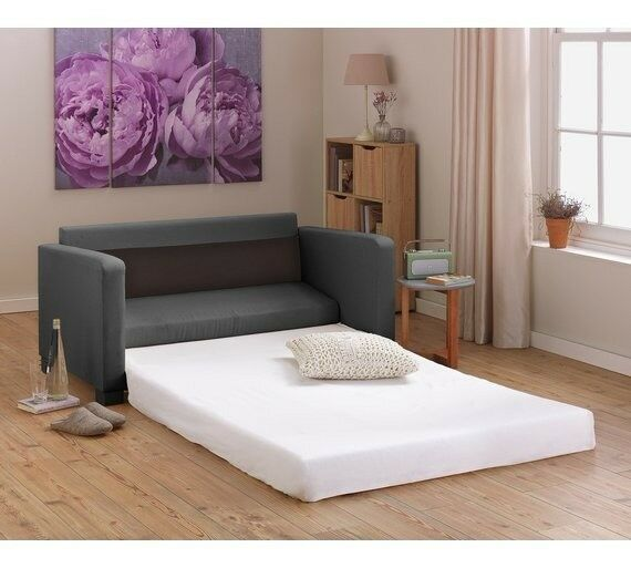 argos sofa bed mocha in newcastle under lyme. Black Bedroom Furniture Sets. Home Design Ideas