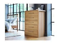 Drawer Chest - Oak Effect
