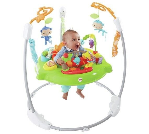 Fisher Price Roaring Rainforest Jumperoo In Argos For 99