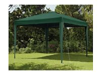 GAZEBO EASY-UP OLIVE 3 X 3M LARGE GARDEN FURNITURE BOXED UNUSED PICK ONLY