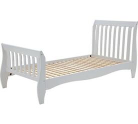 Daisy Sleight Single Bed Frame - White