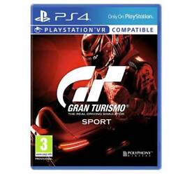 GT SPORTS PS4 SEALED