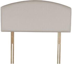 Airsprung Maxwell Single Headboard - Ivory