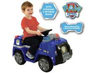 PAW PATROL CHASE CRUISER RIDE ON 6V