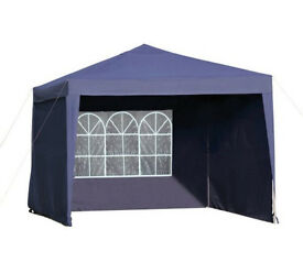 Gazebo, Pop Up with 3 Side Panels