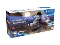 [Brand New] PS4 VR Aim Controller with Farpoint PS4 VR Game