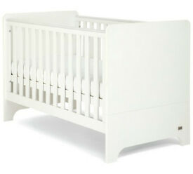 Mamas & Papas Rocco White Cot Bed