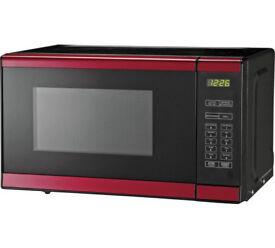 Morphy Richards 800W Standard Microwave EM820 - Red ( pre-loved)
