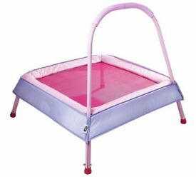 Chad Valley Junior Trampoline (Pink) Unused As New and Boxed