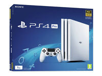 Playstation 4 ps4 pro console white brand new 1 games