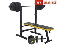 Ever last weights bench and 100kg weights