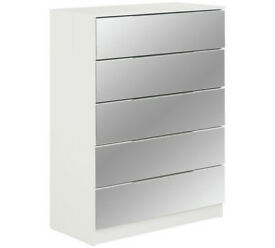Sandon 5 Drawer Chest - White