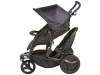 SWOPS Gracco double pram