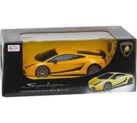 Remote control Yellow Lamborghini £5 (Brand New in Box)