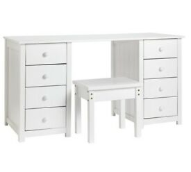 Ex Display Scandinavia Dressing Table - White