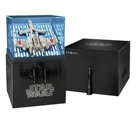 Collectors Edition Star Wars T-65 X WING Star Fighter Quad (Brand new in sealed box)