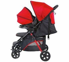 Refurbished Kids Children Fisher Price Travel System Push Chair Car Seat