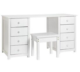Ex display Scandinavia Dressing Table - White