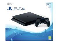 PlayStation 4 500gb Slim Brand New Sealed PS4
