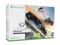 Brand New/Sealed Xbox one S (500gb) with Forza Horizon 3 and Fallout 4 Games
