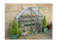 GREENHOUSE SPACE SAVER LEAN TOO NEW AND STILL IN BOX