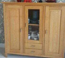 Solid wood sideboard for dinning room or extra storage