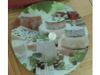 Cheese tray lazy susan