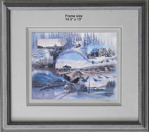 Limited Edition Fort McMurray Collage by Kelvin Sawatzky