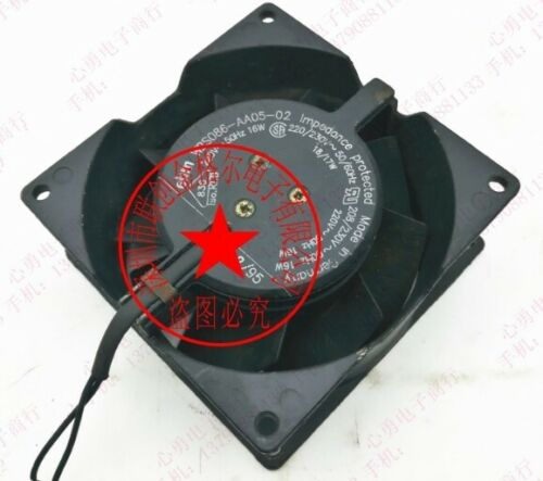 1pc for W2S086-AA05-01 230V 0.07A 16(W) 92*92*38mm All metal fan #M328D QL