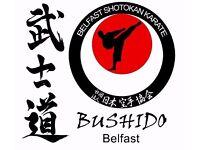 Bushido Belfast - Shotokan Karate Classes