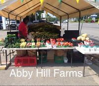 Roadside Sales- Abby Hill Farms