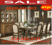 furniture today top sale, dining sets, dinette set, chaise, mvqc