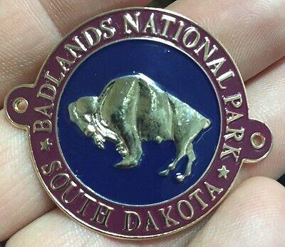 Badlands National Park  walking Hiking Medallion NEW Goes On Staff South Dakota ()