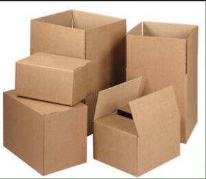 MOVING? FREE CLEAN STURDY CARDBOARD BOXES