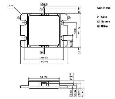 Tim7785-16sl Microwave Power Gaas Fet