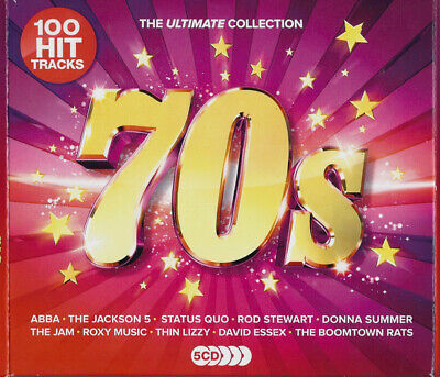 Various Artists – The Ultimate Collection: 70s [New & Sealed] 5CD