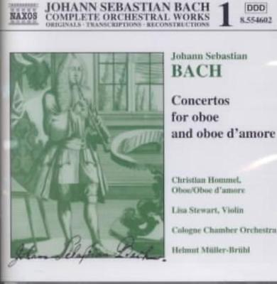 Used, BACH: CONCERTOS FOR OBOE AND OBOE D'AMORE NEW CD for sale  Shipping to Canada