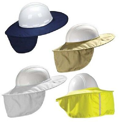 Occunomix Miracool Stow-away Hard Hat Sun Shade Protects Neck Face