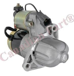 New HITACHI Starter for NISSAN ALTIMA 1993-1997 SMT0058