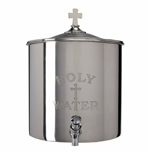 HOLY WATER RECEPTACLE + 5 GALLOON