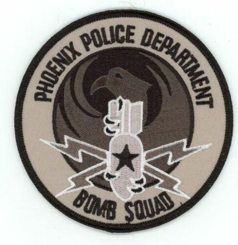 PHOENIX POLICE ARIZONA AZ BOMB SQUAD SUBDUED PATCH AWESOME DESIGN