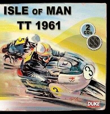 """1961 TT Races Isle of Man Motorcycle 10/"""" X 7/"""" Reproduction Metal Sign A614"""