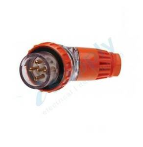 PULSET 5 Pin 10A Weatherproof Male Angle Plug IP/PLA3PH510 Parramatta Parramatta Area Preview
