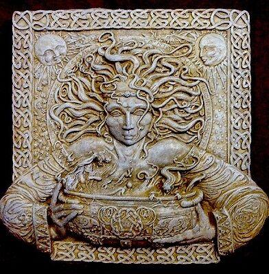Rebirth Cerridwen Magical Potions Cauldron Hanging Wall Plaque