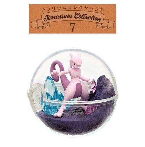 RE-MENT Pokemon Terrarium Collection 7 Poke Ball Case Toy Figure 6 Mewtwo NEW