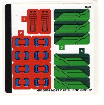 NEW LEGO Sticker Sheet for Set 76114 - (46106/6254323)