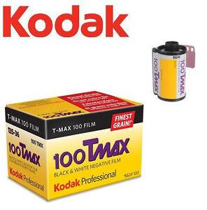 KODAK-ISO-100-T-MAX-B-amp-W-Black-amp-White-135-35mm-Film