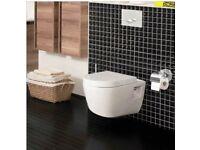 Aviso Compact Wall Hung Toilet - Brand New