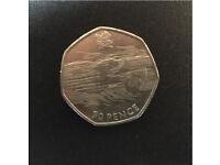 Coin collectors 50p coin *RARE*